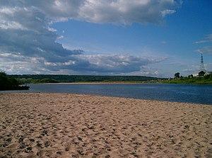 Podosinovsky District - The Yug River in Podosinovets