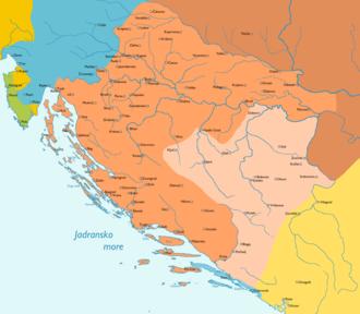 Banate of Bosnia - Image: Zadar Treaty 1358