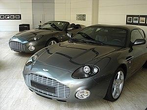 Zagato - 2003 Aston Martin DB7 Zagato Coupe and Roadster