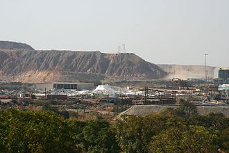 Chingola - Nchanga copper mine near Chingola