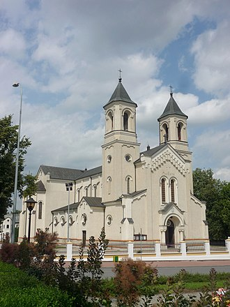 Zambrów - Parish church of the Holy Trinity