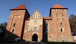 Teutonic castle in Nidzica