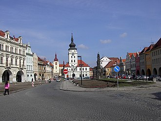 Louny District - Image: Zatec CZ namesti Svobody PICT2967