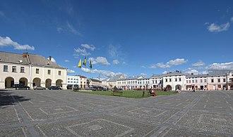 Zhovkva - Zhovkva main market square