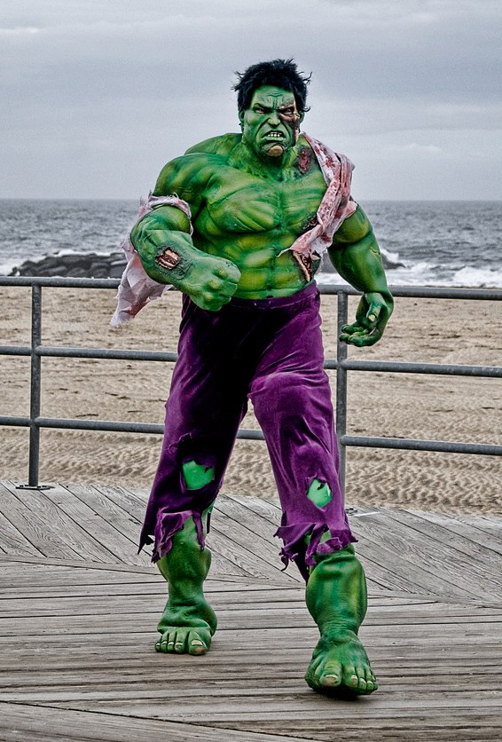 Zombie Hulk costume