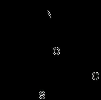 Thiepine - The chemical structure of the dibenzothiepine zotepine.