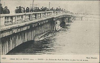 Zouave Du Pont De L Alma Wikipedia