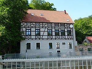 Niederwiesa - Old mill in Braunsdorf district Niederwiesa