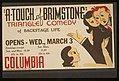 """A touch of brimstone"" - triangle comedy of backstage life LCCN98507611.jpg"