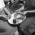 """""""Penčanje"""" češp v Biljani (rekonstrukcija po starem) 1953.jpg"""