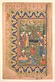 """Preparation For a Noon-Day Meal,"" Folio from a Divan (Collected Works) of Mir 'Ali Shir Nava'i MET DP251274.jpg"