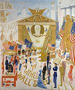 1939 oil painting by Florine Stettheimer