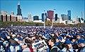 'World Champs' -- 2016 Cubs World Series Win Celebration Grant Park Chicago (IL) November 4, 2016 (30840440993).jpg