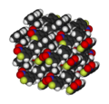 (4-fluoro-3-nitrophenyl)ferrocene-xtal-3D-vdW.png