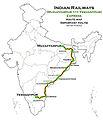 (Muzaffarpur - Yesvantpur) Express Route map.jpg