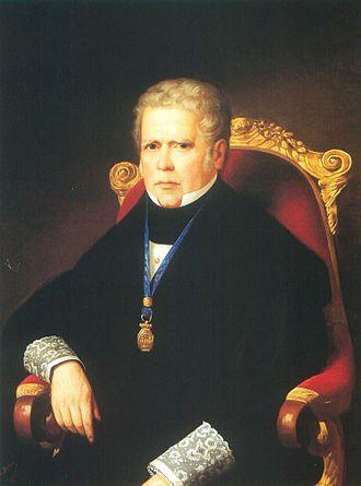 Álvaro Gómez Becerra - Image: Álvaro Gómez Becerra (Palacio del Senado de España)