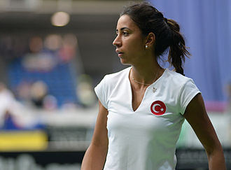 Çağla Büyükakçay - Çağla Büyükakçay at the 2015 Fed Cup