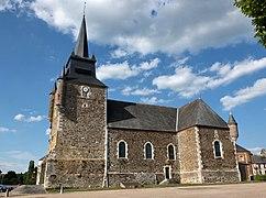 File:Église fortifiée de la Thiérarche , département de Ardennes -France.jpg