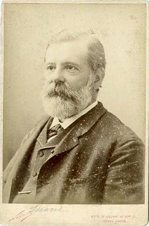 Étienne-Jules Marey - Étienne Jules Marey around 1880, by Félix Nadar.