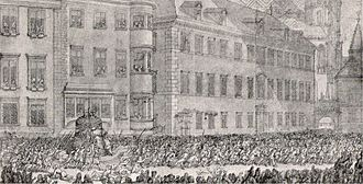 Pummerin - The Pummerin being transported to the cathedral in 1711