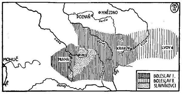 Český stát v X. století za Boleslava I. a II