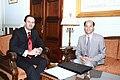 Συνάντηση ΑΝΥΠΕΞ, κ. Δ. Δρούτσα, με τον Πρέσβυ της Κίνας, κ. Linquan Luo (4963622886).jpg