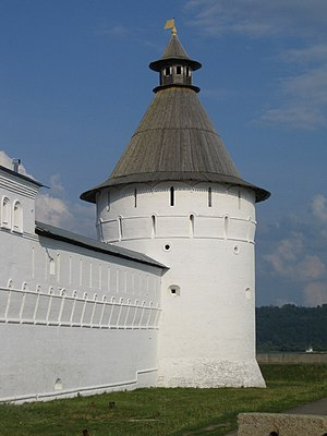 Makaryev Monastery - One of the towers of the Makaryev Monastery