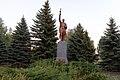 Братська могила радянських воїнів та пам'ятний знак на честь воїнів односельців, село Новокраснянка.jpg
