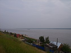 View of the Lena from Pokrovsk