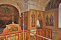 Вид с хоров на верхнюю часть юго-восточного столпа собора.jpg