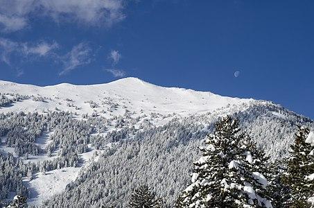 Stiv (2,468 m) on the Baba Mountain, Macedonia