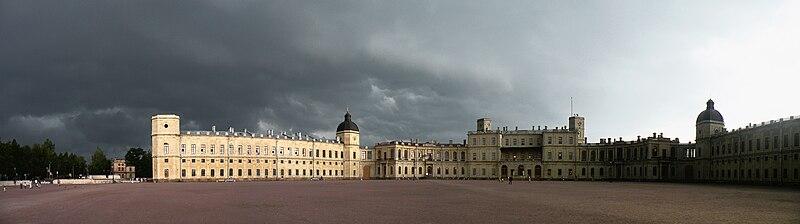 File:Гатчина.Дворец перед бурей.JPG