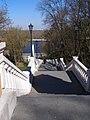 Київ, Вхід і сходи до колони Магдебурзького права, Володимирський узвіз.jpg