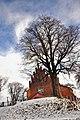 Костел св. Мартина (Скелівка) взимку.jpg