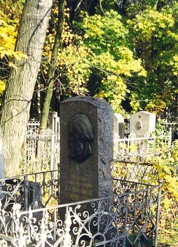 Могила П.И.Мельникова-Печерского, Нижний Новгород, Бугровское кладбище