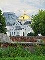 Мікалаеўская царква (Берасьце). Церковь, монумент и руины.JPG