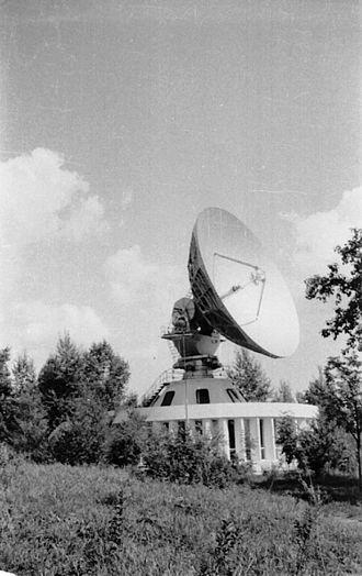 Orbita (TV system) - Orbita ground station. Khabarovsk. 1977
