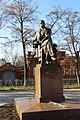 Памятник И.А. Гончарову. Ульяновск. Ноябрь 2013 - panoramio.jpg