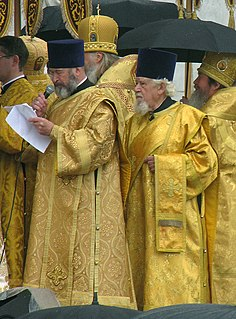 Archdeacon senior clergy position in Anglicanism, Chaldean Catholic, Syrian Malabar Nasrani, and some other Christian denominations, above that of most clergy and below a bishop