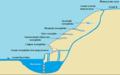 Схема расположения полостей пещер на горе Яшкузьташ и строения водопада Атыш (баш).png