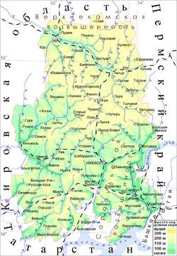 Карта нерудные материалы Ижевской области южноукраинск речной песок