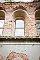 Церковь Владимирская (Рубежская) - фрагмент стены с окнами и надписью.jpg