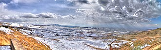 Kotayk Province - View of the Voghjaberd mountains at the southeast of Kotayk