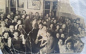 Gordonia (youth movement) - Members of Gordonia in Poland, 1947