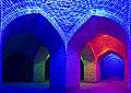 عکس سراسرنما از مسجد کاروانسرای دیرگچین با چند نورپردازی مدرن 10.jpg
