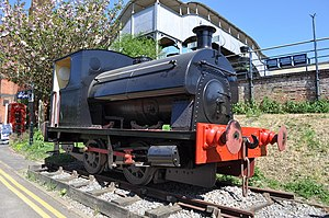 East Anglian Railway Museum - 0-4-0 Saddle Tank - No. 2039 'Jeffrey'