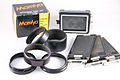 0184 Mamiya Press Super 23 Extension Ring set and ground glass (5136413524).jpg