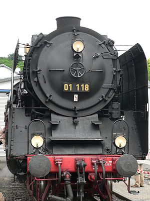 DRG Class 01 - Locomotive 01 118 of the Frankfurt Historic Railway