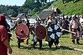 02018 0226 Wikinger Reenactment-Gruppen des 11.Jahrhunderts, Jomsborg -Trzcinica.jpg
