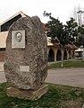 037 Parc Municipal d'Olesa de Montserrat, monument a Daniel Blanxart.jpg